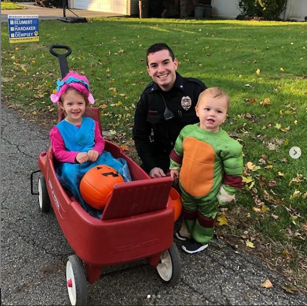 Halloween 2018 - Pequannock Police