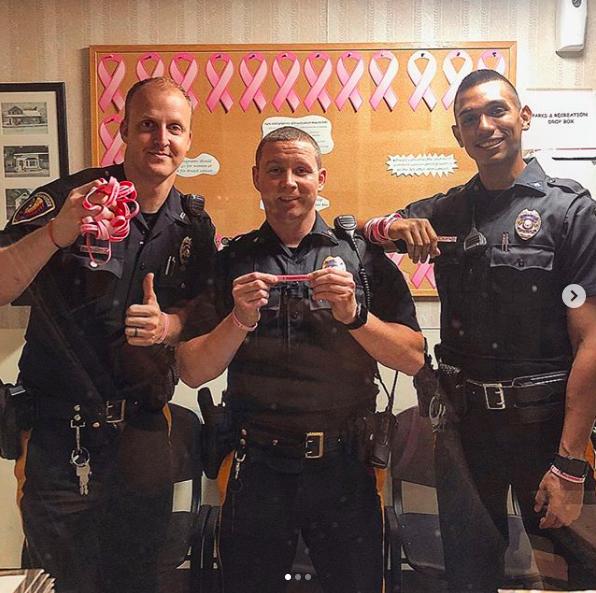 2019 Breast Cancer Awareness Fundraiser Pequannock Police NJ