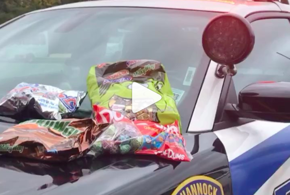 2019 Halloween Candy Pequannock Police