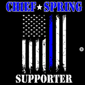 Chief Spring Fundraising Shirt