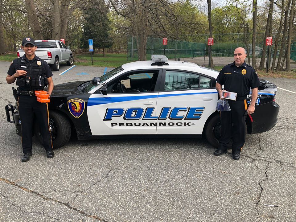 Cupsaw Cares 2020 - Pequannock Police