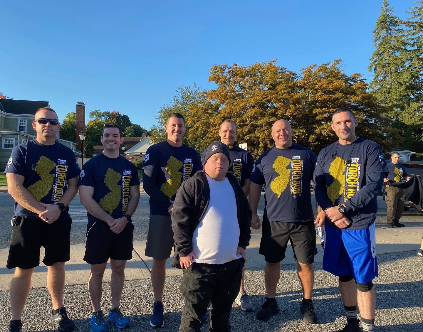 2020 Torch Run - Pequannock Police 1