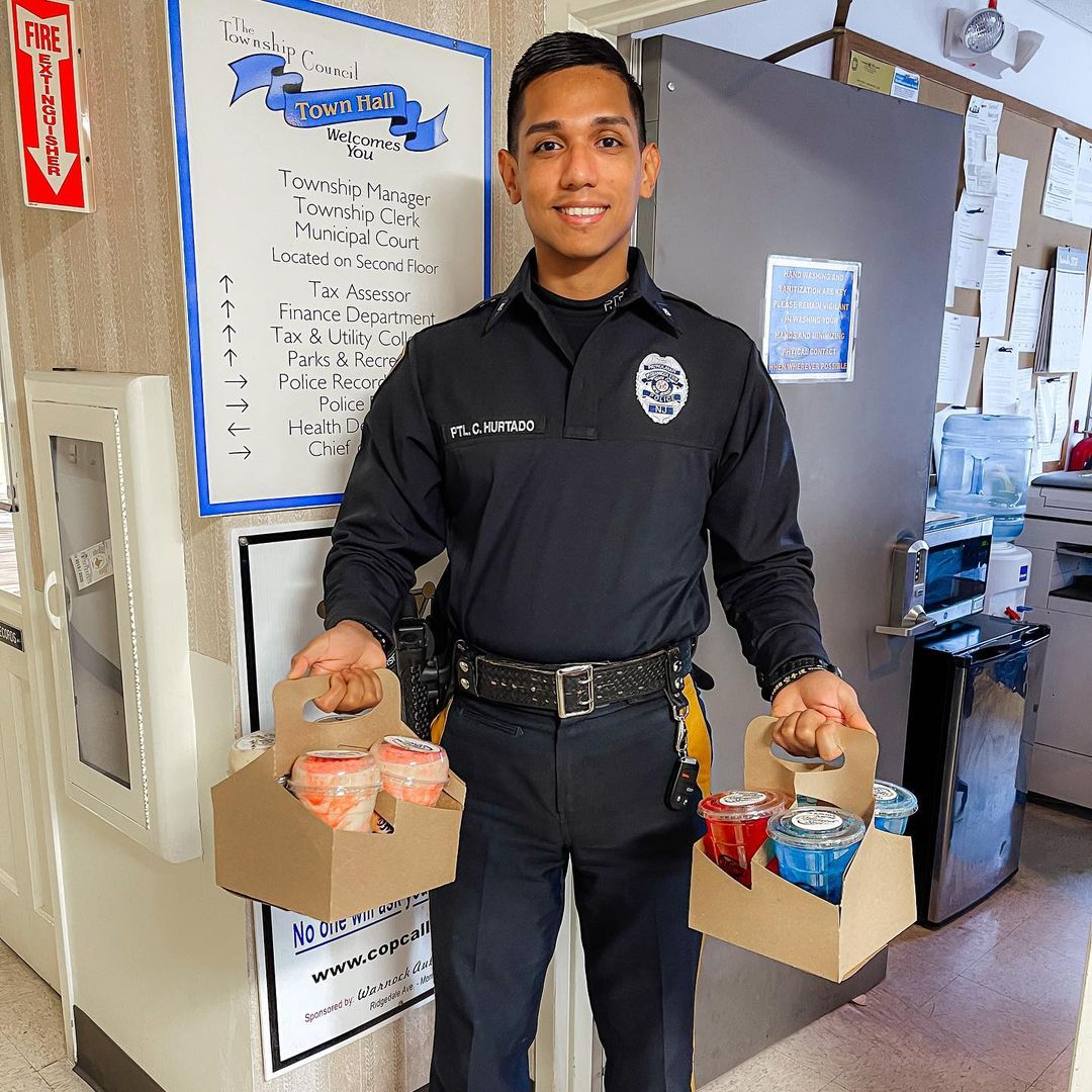 Pequannock Police - DHangout Spot Donation 1
